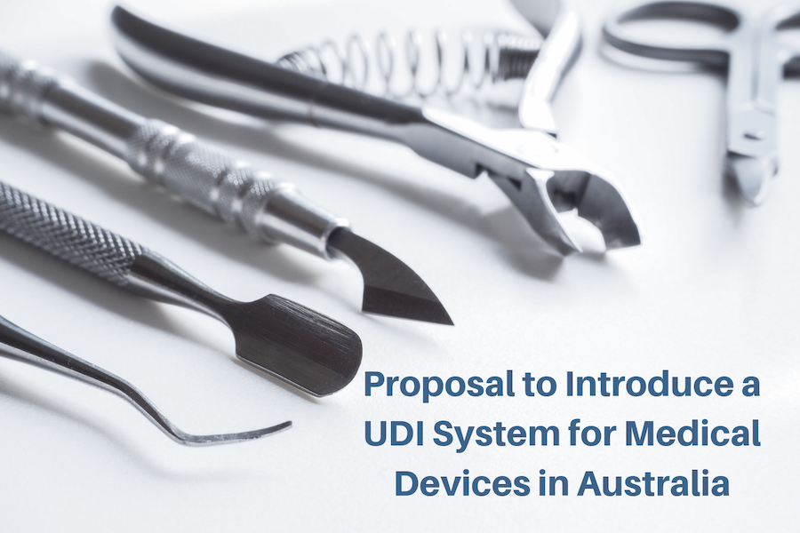 Consultation Introducing UDI 2019