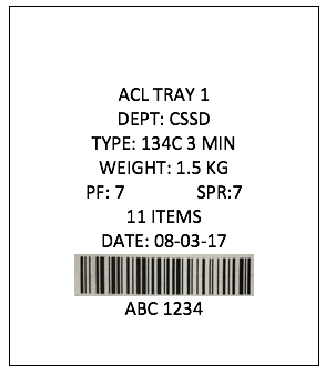 AS4187 label
